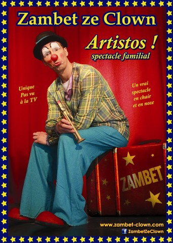 Zambet Clown spectacle Artistos